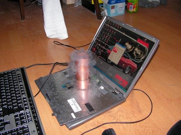 разгон видеокарты на ноутбуке - фото 9