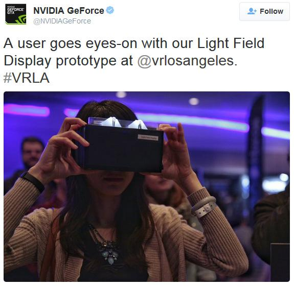 NVIDIA Lightfield VR