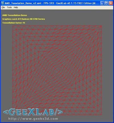 OpenGL tesselation demo