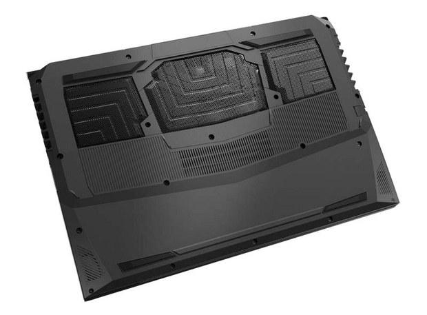 Ноутбук Origin PC EON15-S, вид снизу