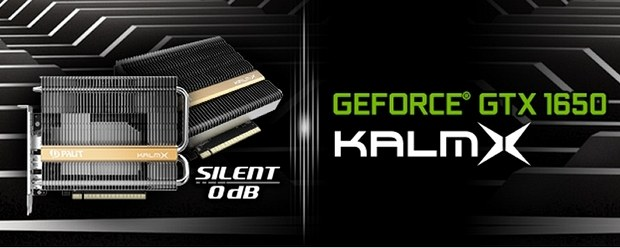 Видеокарта Palit GeForce GTX 1650 KalmX