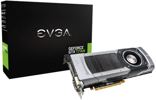 GeForce GTX TITAN от EVGA