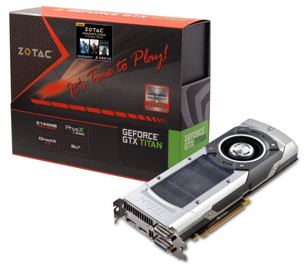 GeForce GTX TITAN от Zotac