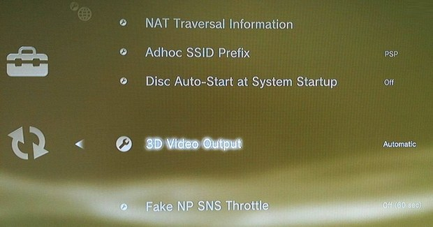 Sony PS3 firmware 3.20
