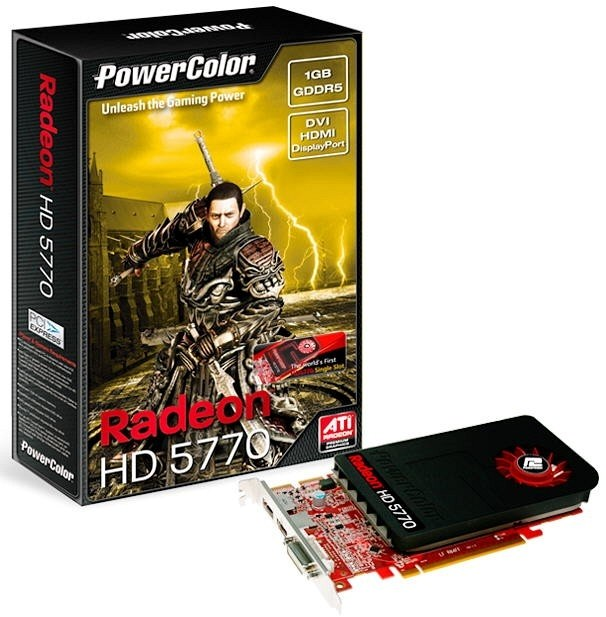 Видеокарта PowerColor HD 5770