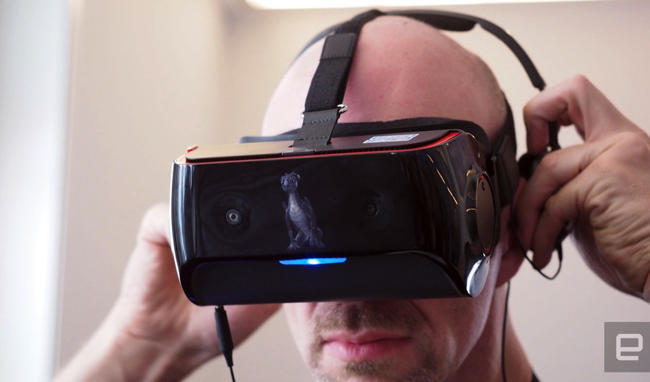 Qualcomm представила шлемVR сфункцией отслеживания движения глаз