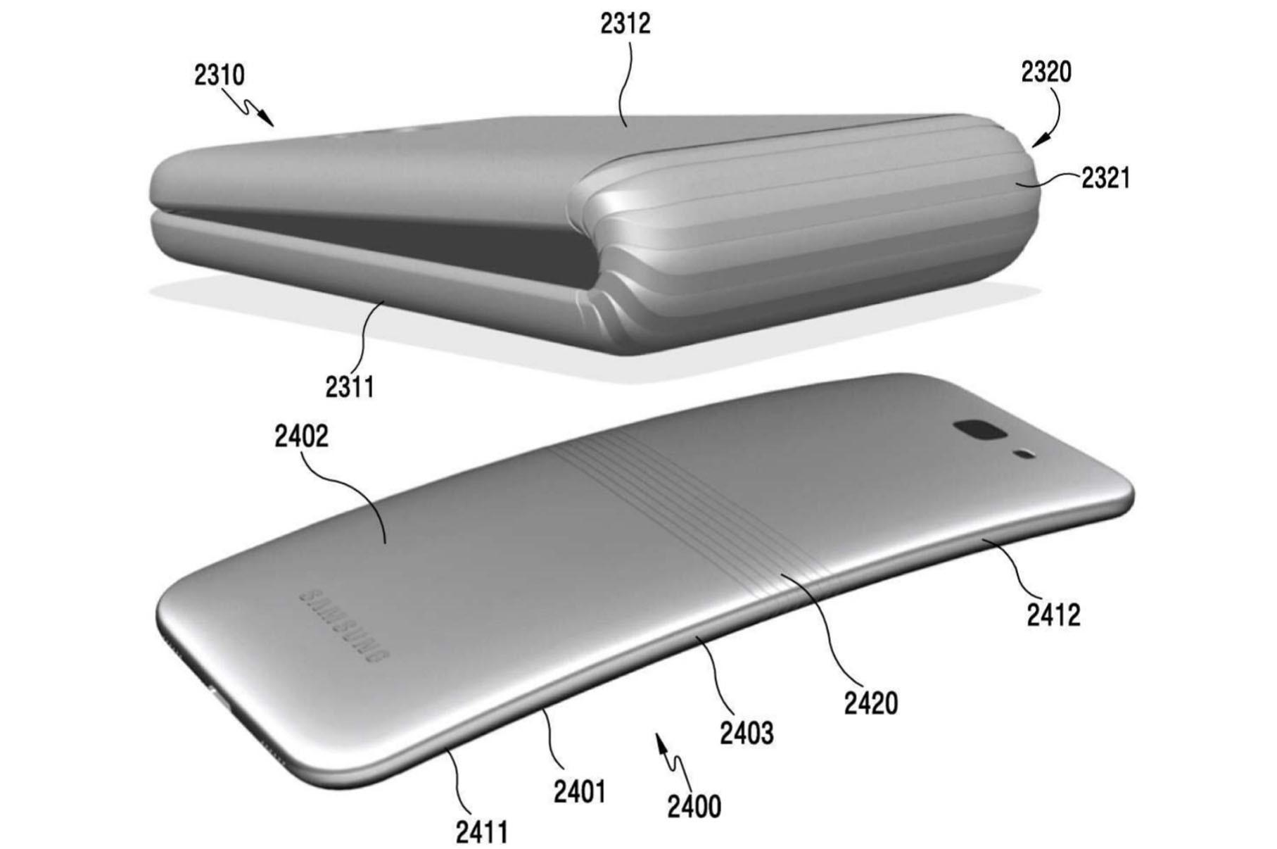Компания Apple получила патент на 2-ой складывающийся смартфон
