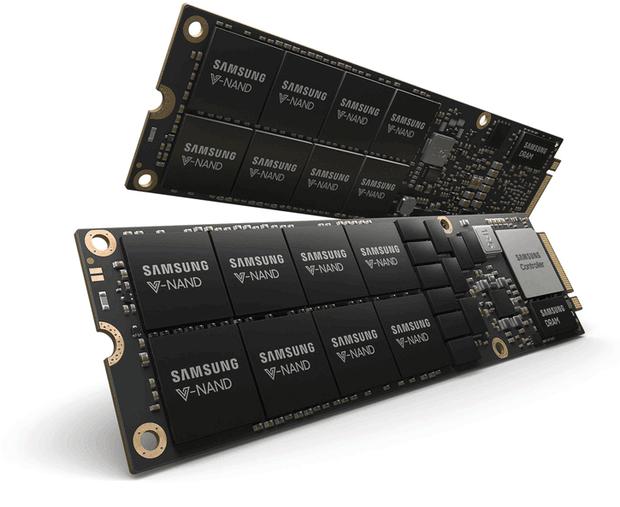 SSD накопитель Samsung объёмом 8 ТБ формата NF1