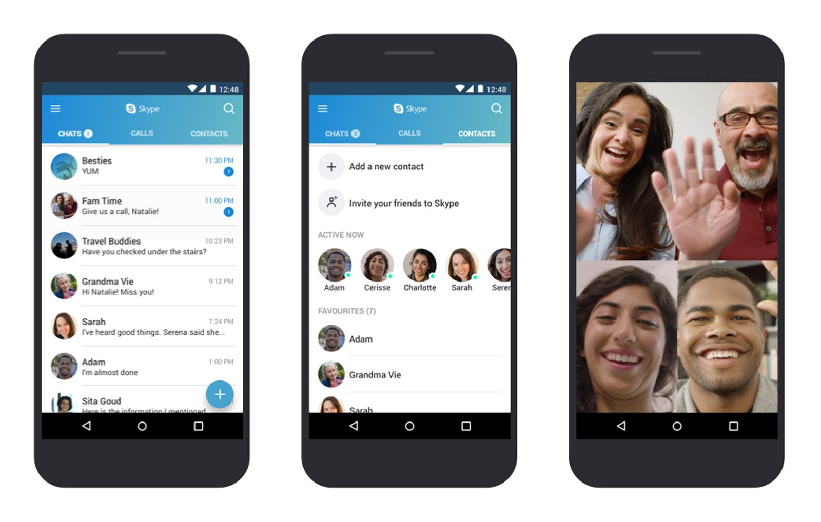 Microsoft выпустила Skype для старых Android-устройств