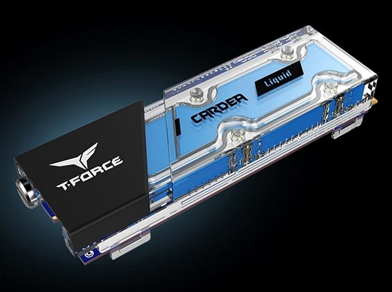 SSD накопитель T-FORCE Cardea Liquid