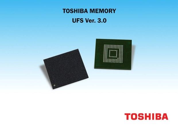 Пакеты памяти Toshiba UFS 3.0