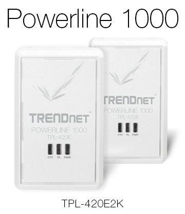 TRENDnet Powerline 1000