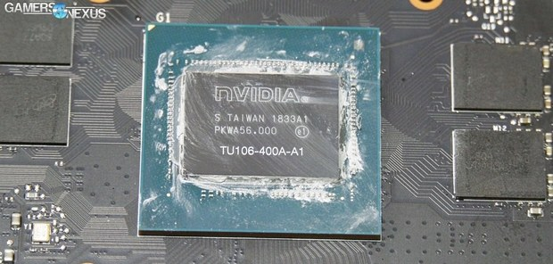 Графический процессор NVIDIA TU106-400A
