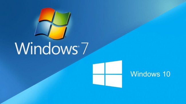 Windows 7 против Windows 10
