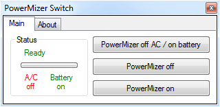 PowerMizer Switch