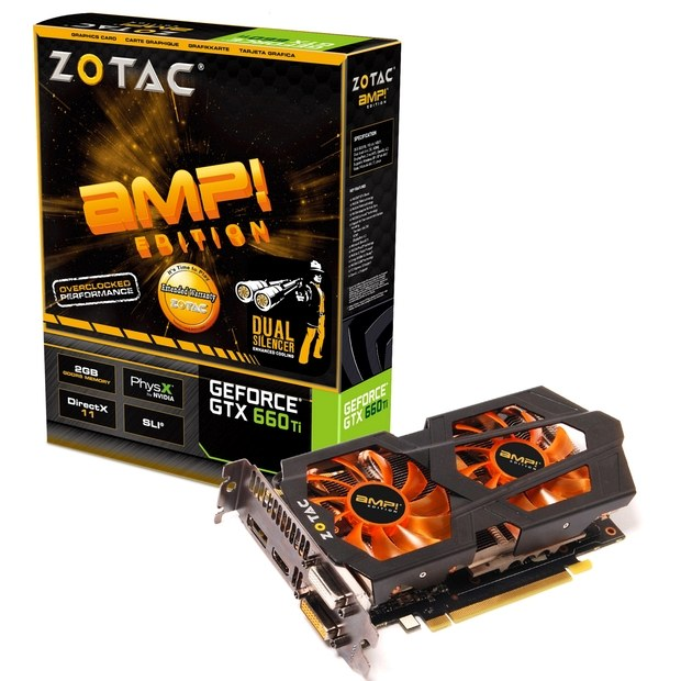 Карта GeForce GTX 660 Ti от Zotac, © Zotac