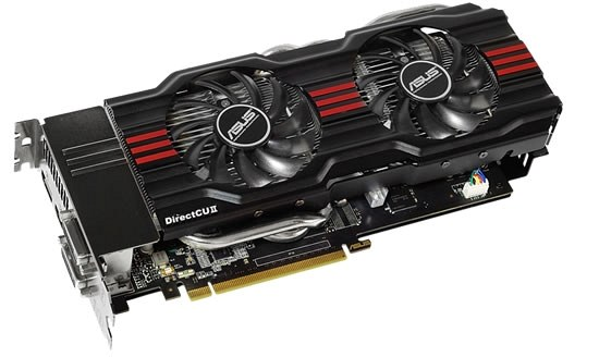 Карта GeForce GTX 670 DirectCU II TOP от ASUS, © ASUS