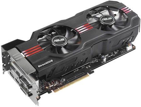 Карта GeForce GTX 680 DirectCU II TOP от ASUS, © ASUS