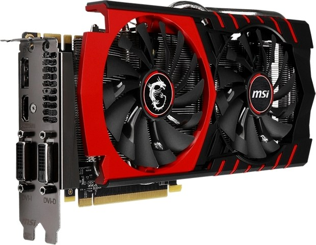 Видеокарта GeForce GTX 970 от MSI модели GTX 970 GAMING 4G LE, © MSI