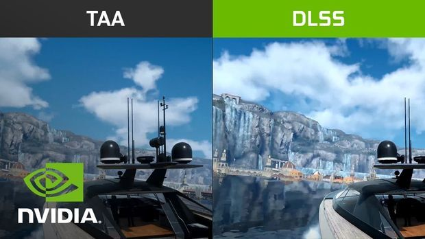 Final Fantasy XV with DLSS Beta Support