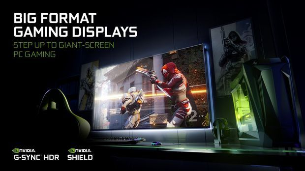 BIG FORMAT GAMING DISPLAYS with NVIDIA G-SYNC™ and SHIELD™ BUILT-IN