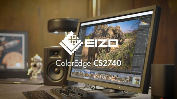 "(en) EIZO ColorEdge CS2740: 27"" wide gamut monitor with 4K UHD resolution and USB Type-C"