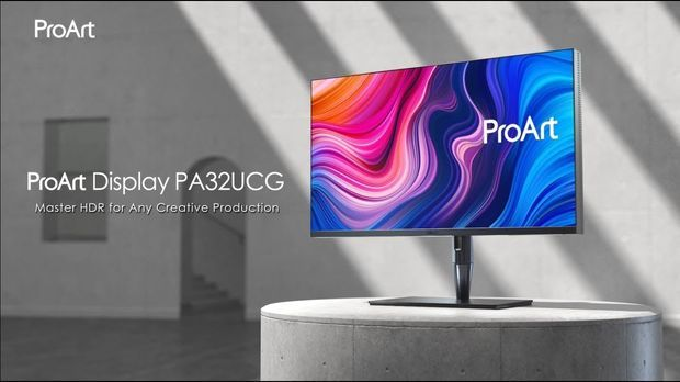 ProArt Display PA32UCG – Master HDR in Any Creative Production | ASUS